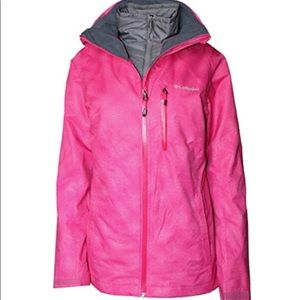 Columbia 2 winter jackets in one